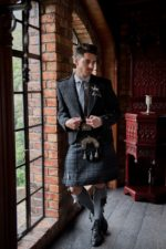 tweeds and tartan for a more casual look